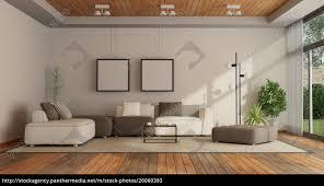 stock photo 26060393 living room in a modern villa