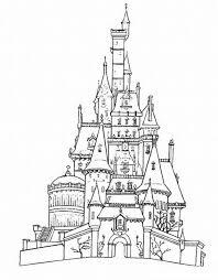 Disney Castle Coloring Page