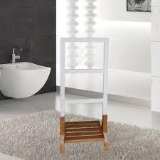 style home badezimmer handtuchständer handtuchhalter bambus
