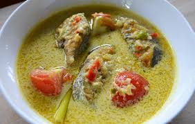 cuisine n駱alaise cuisine malaise masak lemak cili api ikan tenggiri image stock