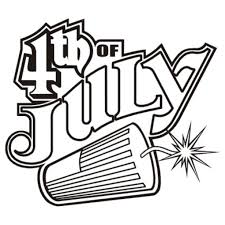 4th July Clipart Black And White – Clip Art Me
