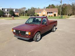 1981 Volkswagen Rabbit V4 Manual Pickup Truck For Sale Mt. Juliet, TN