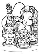 My Little Pony Applejack Coloring Page