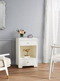 99 Bungalow 5 Nyc Fedor 2Drawer Side Table White NYC Drawers