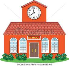 Simplistic School Building Clip Art 83 With Additional Free