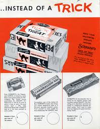Snickers Halloween Commercial Pumpkin by Halloween Candy Ads From The 1950s And 1960s
