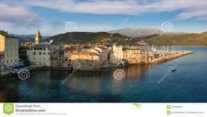 port de florent panorama de beaux ville de florent de et port corse photo