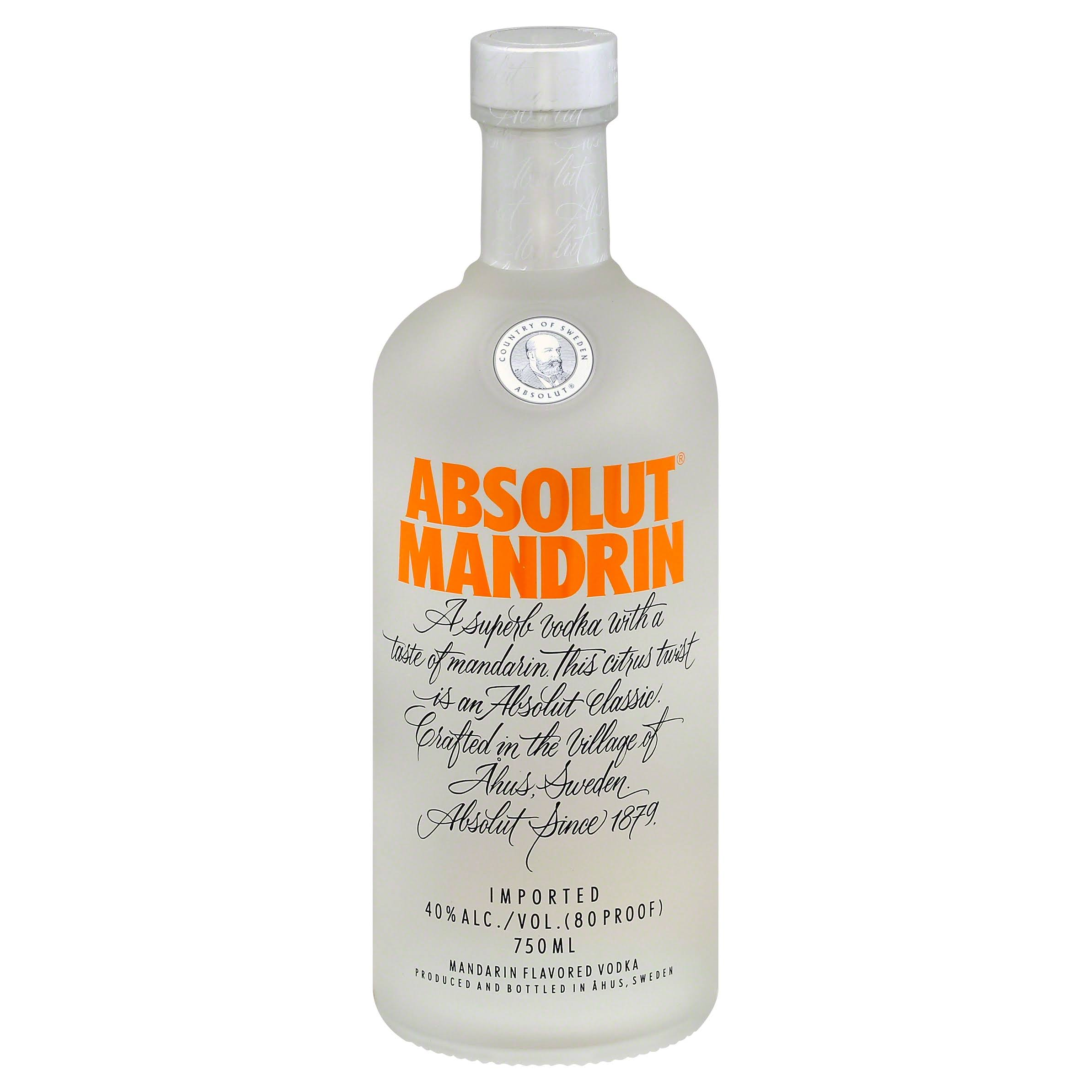 Absolut Vodka, Mandrin - 750 ml