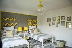 chambre enfant gris et couleur chambre enfant 35 idées à part la peinture murale