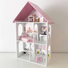Plastic Bunk Bed Miniature DollHouse Furniture Toy Set Home Bedroom Decoration Barbie Doll House Toy Videos