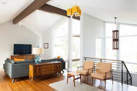 25 bright midcentury modern living room designs home design lover