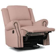 100 Reclining Rocking Chair Nursery Pink Cushions For Delta Children Drake Glider