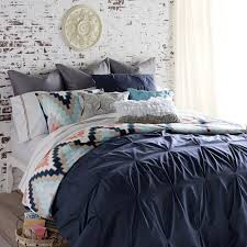 Home Harper Navy King Duvet Set