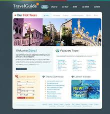 Design Ideas And Examples To Make A Website For Travel Agency With CMS Online