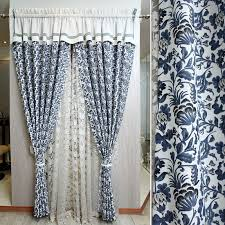 Navy And White Striped Curtains Uk by Curtains Blue And White Decorate The House With Beautiful Curtains