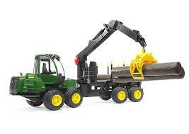 100 Bruder Logging Truck 116 Scale John Deere 1210E Forwarder Toy By LP53287