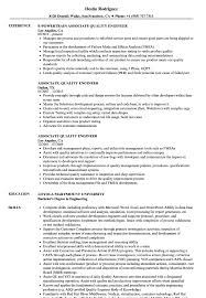 Associate Quality Engineer Resume Samples | Velvet Jobs Resume For Quality Engineer Position Sample Resume Quality Engineer Sample New 30 Rumes Download Format Templates Supplier Development 13 Doc Symdeco Samples Visualcv Cover Letter Qa Awesome 20 For 1 Year Experienced Mechanical It Certified Automation Entry Level Twnctry Best Of Luxury Daway Image Collections Free Mplates