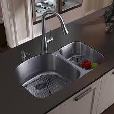 Overmount Double Kitchen Sink by Sinks Interesting Stainless Steel Drop In Sink Stainless Steel