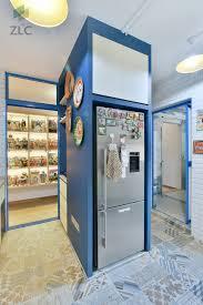 100 Storage Unit Houses Pasir Ris Dr 4 EA HDB Kitchen Folding Doors Living Area The Unit