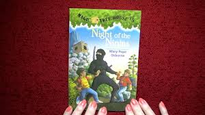 Trixie The Halloween Fairy Book Report by Magic Tree House 5 Night Of The Ninjas Read By Nita Youtube