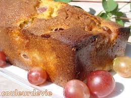 dessert aux raisins frais cake moelleux aux raisins frais couleurdevie