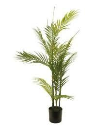 palme baum deko blumen künstliche pflanzen fürs badezimmer