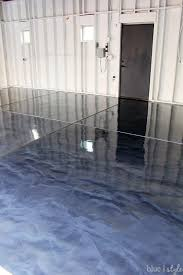 diy with style how to apply rocksolid metallic garage floor