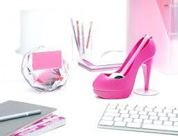 accessoires de bureau accessoires de bureau des accessoires girly pour le bureau
