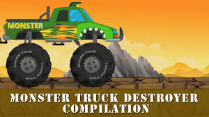 Monster Truck Destroyer Compilation Compilation For Kids Youtube ... Monster Truck Stunt Videos For Kids Trucks Nice Coloring Page For Kids Transportation Learn Colors With Cute Tires Parking Carl The Super And Hulk In Car City Cars Garage Game Toddlers Cartoon Original Muddy Road Heavy Duty Remote Control Vehicles 2 Android Free Download 4 Police Racing Games Tap A Monster Truck Big Big Ideas Group Watch Creech On Roof Exclusive Movie Clip