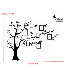 Wall Mural Decals Tree by Memory Tree Photo Wall Sticker Living Room Home Decoration
