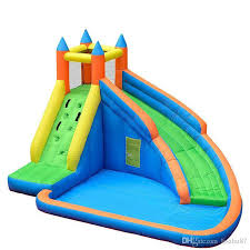 Kids Inflatable Water Slide Big Pool Bounce House Jumper Bouncer Jump Bouncy Castle Online With 76563 Piece