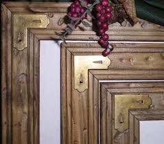 Brass Cornered Rustic Frames Brass Corner Frame