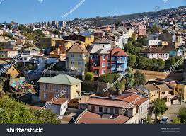 100 Houses In Chile Colorful Valparaiso Stock Photo Edit Now 638753665