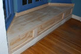 plain bay window bench make this a removable the christmas tree