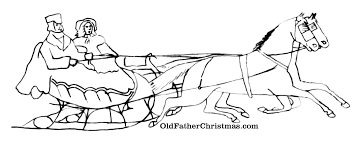 How To Draw Sleigh Horse Page 2 Co Uk S 1 Coloring Pages