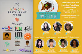 Food Tech Convo Event During New York African Restaurant Week
