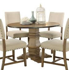 Home Elegance Veltry Weathered 45 Inch Round Pedestal Table Sunset Trading Co Selections Round Dinette Table Winners Only Quails Run 5 Piece Pedestal And 42 Ding With 4 Side Chairs Shown In Rustic Hickory Brown Maple An Asbury Finish Oak Set Rustica 54 W What I Want For My Kitchena Small Round Pedestal Table Archivist Crown Mark Camelia Espresso Glass Top Family Wood Kitchen Room Breakfast Fniture Modern Unique Sets Design Models New Traditional Cophagen 3piece Cinnamon