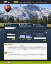 Travel Inside Web Design Interface Inspiration Deviantart