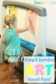 Step2 Art Easel Desk Instructions by The Perfect Easel For Kids The Step2 Jumbo Art Easel Viva Veltoro