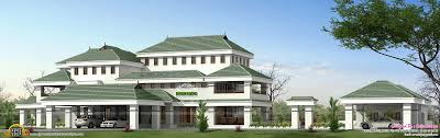 100 10000 Sq Ft House Sqft House Plan Kerala Home Design And Floor Plans