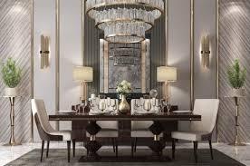 casa padrino luxus deco esszimmer stuhl set beige dunkelbraun hochglanz küchen stühle 6er set edle deco esszimmer möbel
