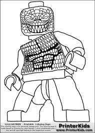 Color Pages For Batmans Villians Lego