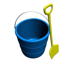 Beach Bucket And Shovel Sand Clipart