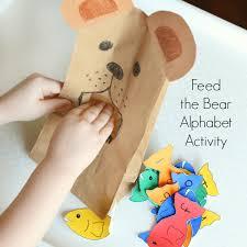 Learn The Alphabet With A Bear Activity