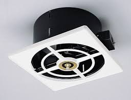 50s style nutone ceiling wall fan solves your exhaust issues