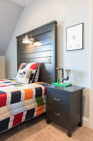 Headboard Designs For Bed by Diy Liam Barn Light Bed The Hall Way