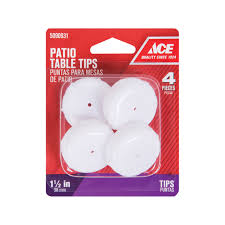 Menards Patio Door Rollers by Ace 1 1 2in Round Insert Cup For Patio Furniture Furniture Tips