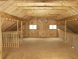 Less than More Pole barn designs with loft
