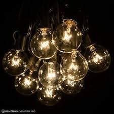 zitrades patio lights g40 globe string lights decorative