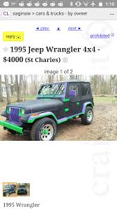 100 Craigslist St Louis Mo Cars And Trucks This Heep On My Local Shitty_Car_ds